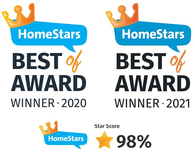 Homestars Reno Rocket Award 2021